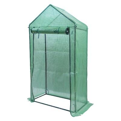Foliengewächshaus Gewächshaus  für Garten zur Aufzucht, Grün, 100×50×190cm