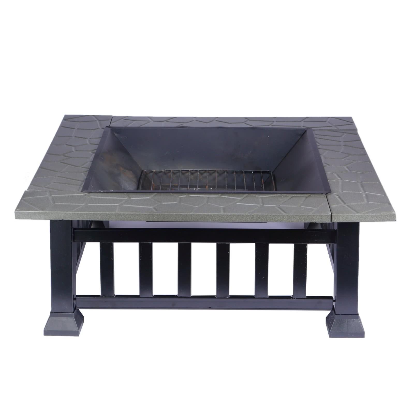 feuerschale multifunktional feuerstelle fire pit f r. Black Bedroom Furniture Sets. Home Design Ideas