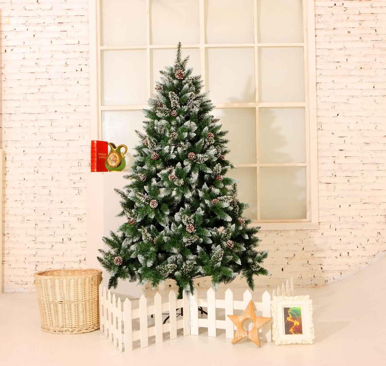 Künstlicher Yorbay Weihnachtsbaum Tannenbaum 120cm für Weihnachten ...