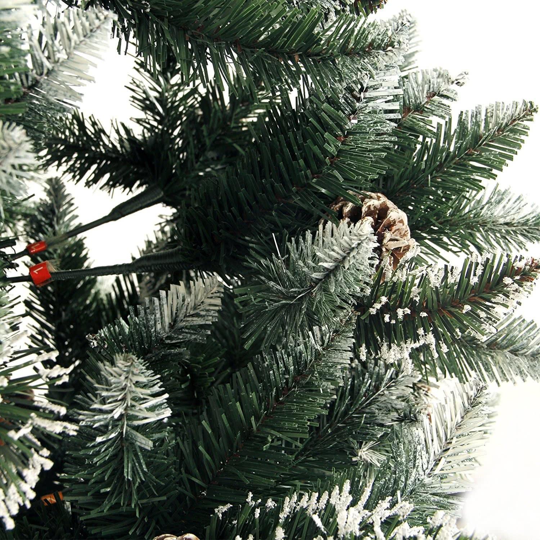 Wunderbar Weihnachtsbaum Leuchtet Weißen Draht Fotos - Die Besten ...