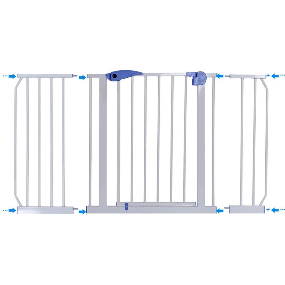 125-135cm Türschutzgitter Treppenschutzgitter Türgitter Schutzgitter