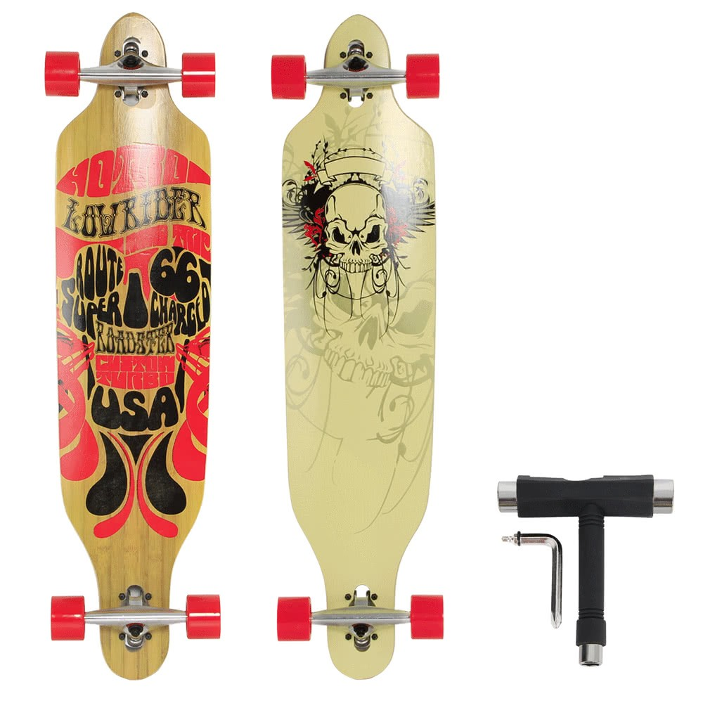 """41"""" Skateboard Streetsurfing Longboard Cruiser Board"""