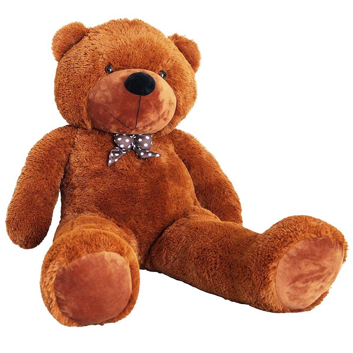 90cm Teddybär Plüschbär in Braun
