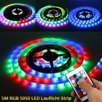5m LED RGB Lauflicht Strip wasserdicht