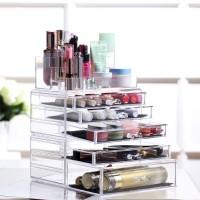Acryl Kosmetik Make up Aufbewahrung Organizer mit Schubladen und Abteile (Modell 3)