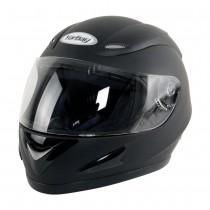 Motorradhelm-schwarz