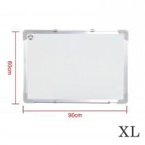 Magnetisches Whiteboard inkl.Tafellöscher und 4 Magnete für Wohnung und Büro-XL