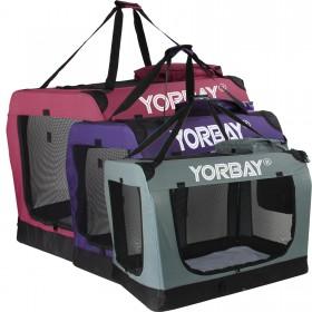 M Faltbare Hundetransportbox für Hund Katze & Kleintier Haustier