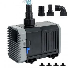 CHJ-1500 Multifunktionstauchpumpe, 25W 1500L/h Wasserpumpe für Teich, Aquarium