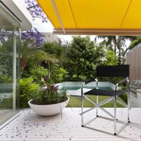 Campingstuhl Gartenstuhl  mit Seitenablage ALU Faltbar