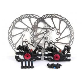 G3 schwarze Fahrrad Scheibenbremse MTB Set