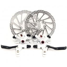 G3 weiße Fahrrad Scheibenbremse MTB Set