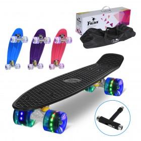 LED Leuchtrollen Skateboard