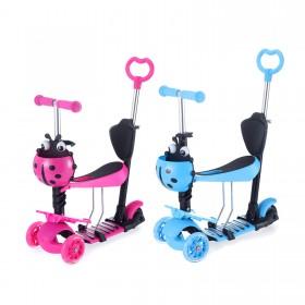 3-in-1 Kinder Scooter Roller Kinderscooter Kinderroller
