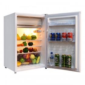 Mini Kühlschrank mit Gefrierfach Gefrierkombination 123L A+ Freistehend