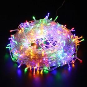 200er LED Lichterkette Bunt, Deko für Hochzeit, Party, Weihnachten, Weihnachtsbeleuchtung