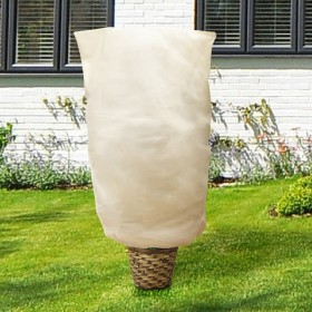 Yorbay Winterschutz für Kübelpflanzen, Palmen Pflanzen überwinterungszelt Wintervlies 180 x 120cm, 200 x 240cm