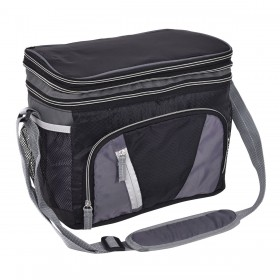 Picknicktasche Isoliertasche Thermotasche Kühltasche Campingtasche mit Doppel-Stauraum
