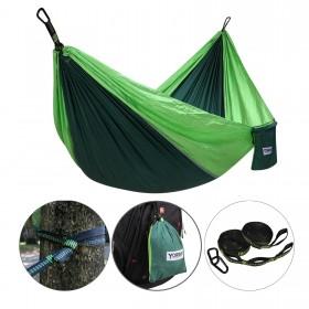 Tragbar Hängematte Tuchhängematte aus 210T –Nylon-Gewebe für Camping, Garten, Urlaub