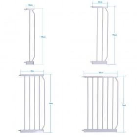 Extension Verlängerung für Türschutzgitter Treppenschutzgitter 10 cm, 20 cm, 30cm, 45cm,Türgitter Schutzgitter