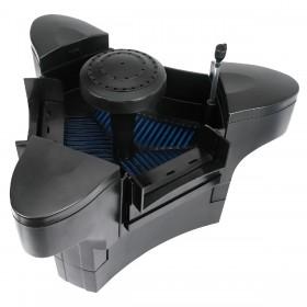 Yorbay 4in1 Teichabsauger, CSP-2000 Teichskimmer mit Pumpe 35W 2000 l/h