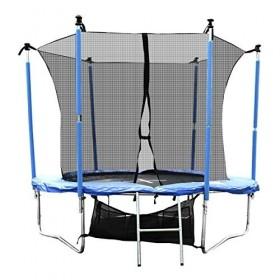 Gartentrampoline Komplettset inkl. Sicherheitnetz,Leiter,Schuhtasche und Regenabdeckplane