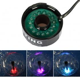 Unterwasser RGB LED-Leuchten mit 4.8 Meter Stromkabel, für Tauchpumpe Springbrunnenpumpe Wasserspielpumpe Gartenteich