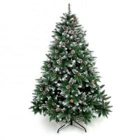 120cm Weihnachtsbaum Tannenbaum für Weihnachten-Dekoration mit Schnee