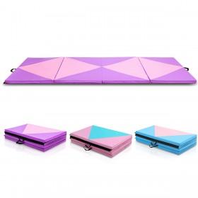 Weichbodenmatte Gymnastikmatte Yogamatte Turnmatte Klappmatte klappbar tragbar 300x120x5cm