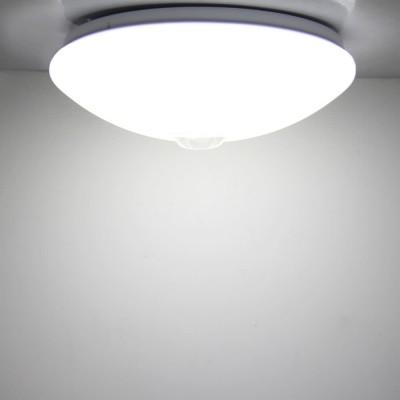 12W Weiß PIR Sensorleuchte mit Bewegungsmelder, LED Deckenleuchte