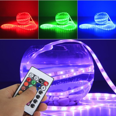 LED RGB 5M Strip IP68 mit Trafo und Controller