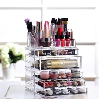 Acryl Kosmetik Make up Aufbewahrung Organizer mit Schubladen und Abteile (Modell 1)