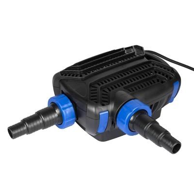 Teichpumpe 40W 5200 L/H mit 10m langem Stromkabel für Garten, Teiche, Süß- und Meerwasser, CTF-5800B SuperECO
