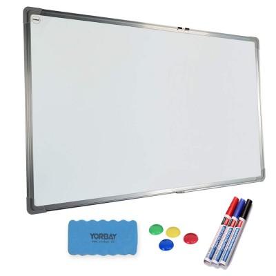 Magnetisches Whiteboard inkl.Tafellöscher und 4 Magnete für Wohnung und Büro
