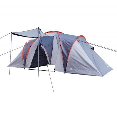 Campingzelt 4-6 Personen mit Vorzelt, Campingzelt wasserdicht WS2.000mm
