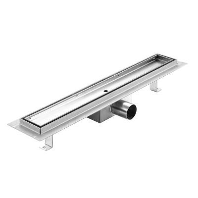Edelstahl Duschrinne Bodenablauf Ablaufrinne 50cm-100cm für Badezimmer