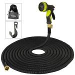 Flexibler Gartenschlauch,Wasserschlauch Düse mit 9 Funktionen, -40℃ bis +60℃ verwendbar, 30m ausgedehnt